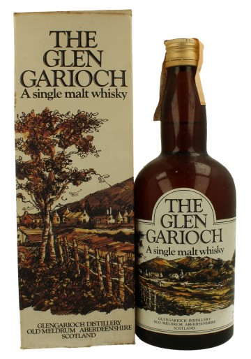 GLEN GARIOCH Bot.70's 26-2/3 Fl.Ozs 70°proof OB