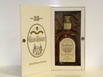 GLEN GRANT 25yo Bot.1981 75cl 40% OB - Royal Wedding Reserve