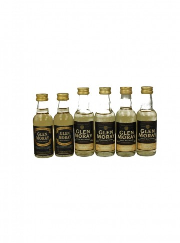 GLEN MORAY  5CL 6 RARE MINIATURES