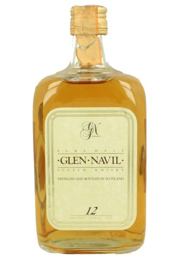 GLEN NAVIL Pure Malt 12yo Bot.80's 75cl  40% Burn Stewart