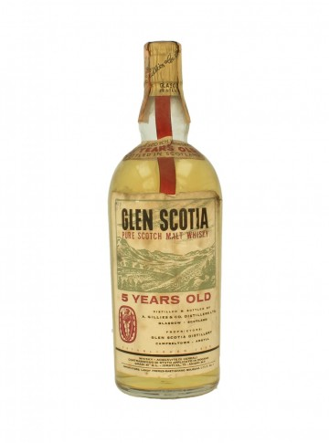 GLEN SCOTIA 5yo Bot.60/70's 75cl 40% OB - A.Gillies Dist.
