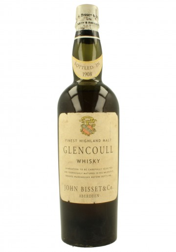 GLENCOULL JOHN BISSET 1908 WE DO NOT GUARANTEE THE BOTTLE AUTHENTICITY 75 CL