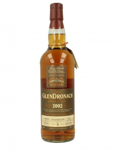 GLENDRONACH 8yo 2002 2010 70cl 58% OB - Virgin Oak finish #4521