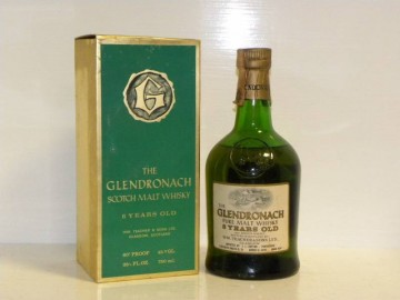 GLENDRONACH 8yo Bot.early 70's 26-2/3 Fl.Ozs 80°proof OB