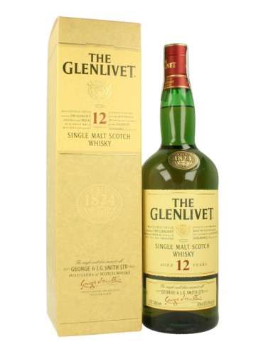 GLENLIVET 12yo Bot.early 2000 100cl 40% OB