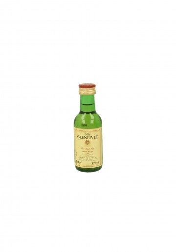 GLENLIVET  PURE SINGLE MALT  5CL 43%