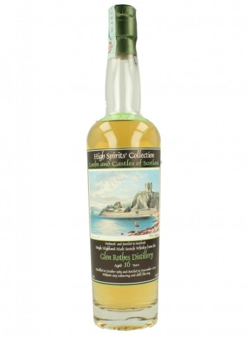 GLENROTHES 16yo 1989 2005 70cl 46% High Spirits - Lochs and Castles No.12