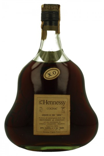 HENNESSY COGNAC XO Bot.1960/1970's 75cl 40%