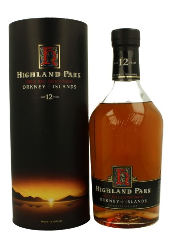HIGHLAND PARK 12yo Bot.80's 75cl 43% OB Bottle propriety of private collector for sale