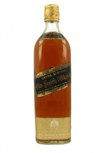 JOHNNIE WALKER Black Label Bot.60/70's 75cl 43% - Blended Duty Free