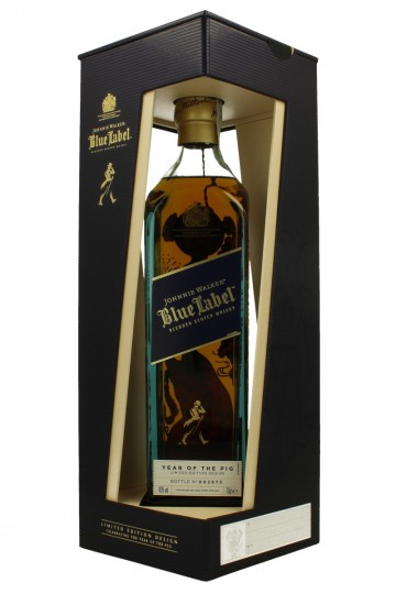 JOHNNIE WALKER Blue Label 70cl 40% - Celebrating the year of the pig - Limited Edition
