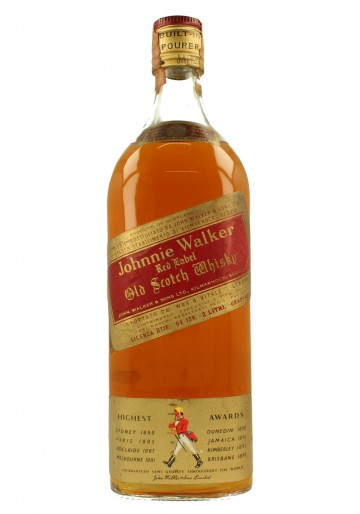 JOHNNIE WALKER Red Label Bot.70's 200cl 40% - Blended