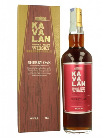 KAVALAN Sherry Oak 70cl 46% OB