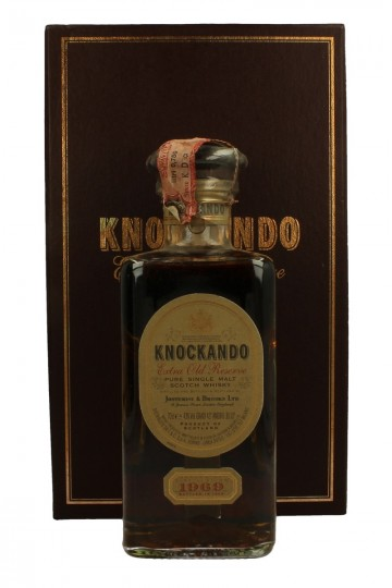KNOCKANDO 1969 1993 70cl 43% OB - Decanter extra old reserve