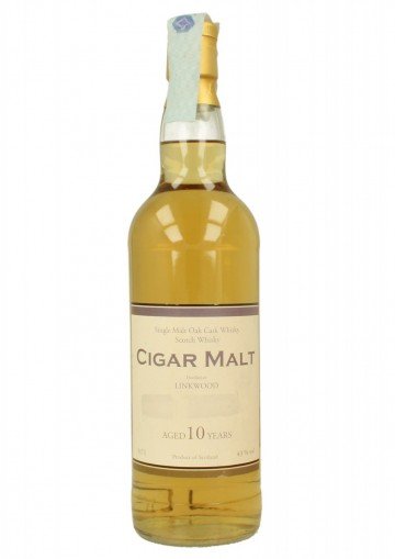 LINKWOOD  10yo 70cl  43% Ian Macleod - Cigar Malt