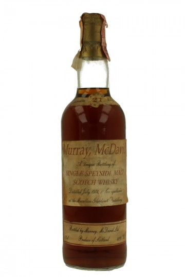 MACALLAN 21 YO 1974 70 CL 46% MURRAY MC DAVID