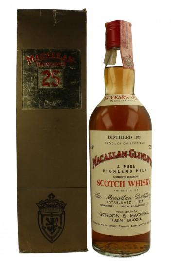 Macallan Glenlivet 25yo 1949 75cl 43