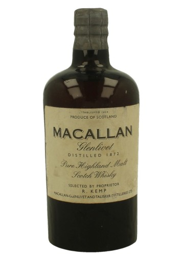 MACALLAN RODERICK KEMP 1872 WE DO NOT GUARANTEE THE BOTTLE AUTHENTICITY 35 CL ????