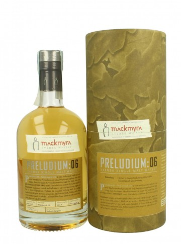 MACKMYRA Preludium 06 Bot.2007 500 50.5% OB - Fresh Swedish Smoke