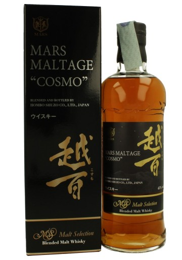 MARS MALTAGE COSMO 70cl 43% - Japanese Blended Whisky