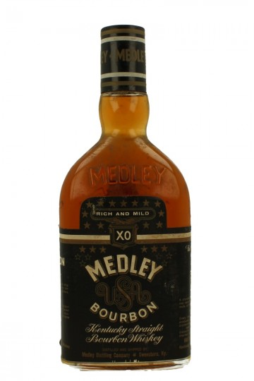 Medley Kentucky Straight Bourbon Whiskey Xo Bot 60 70 S