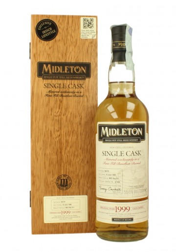 MIDLETON Single Malt 1999 2011 70cl 55.6% OB - Bourbon cask #56279