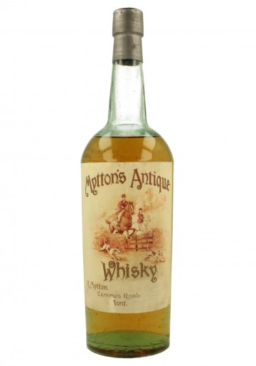 MITTON'S ANTIQUE  MITTON BOTTLED IN THE 30'S OR BEFORE 75CL