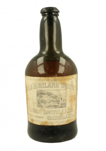 OLD HIGHLAND WHISKY Bot.around 1900 75cl John McWilliam