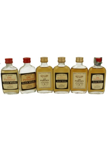 OLD PULTENEY 15x 5cl 15 VERY RARE MINIATURES