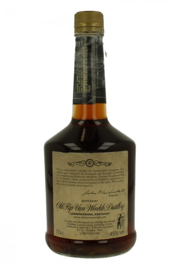 OLD RIP VAN WINKLE 12 years old att. THE BOTTLES IS OPEN 70cl 45% LAWRENCEBURG