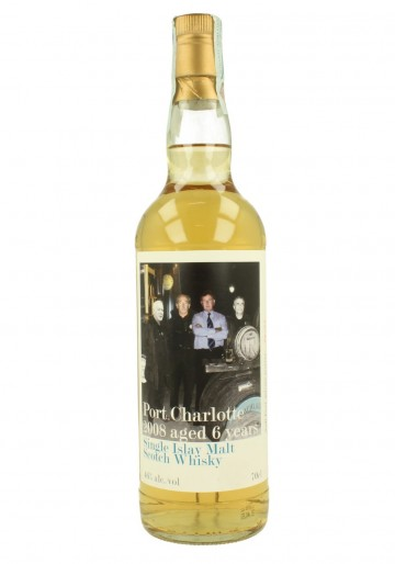 PORT CHARLOTTE  6yo 2008 70cl 46% High Spirits - Nadi Fiori Private Reserve