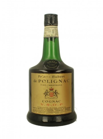 PRINCE HUBERT DE POLIGNAC COGNAC THREE STARS 73 CL 40% VERY OLD