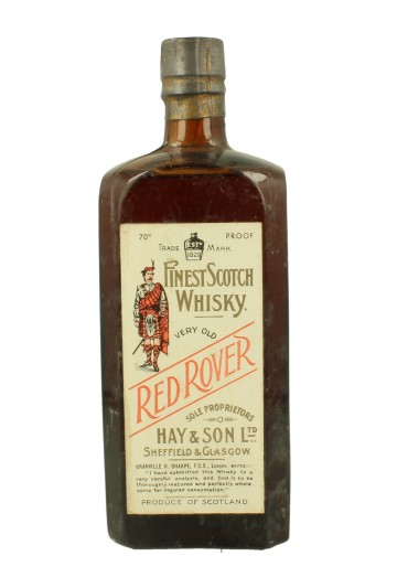 RED ROVER HAY & SON WE DO NOT GUARANTEE THE BOTTLE AUTHENTICITY 75 CL