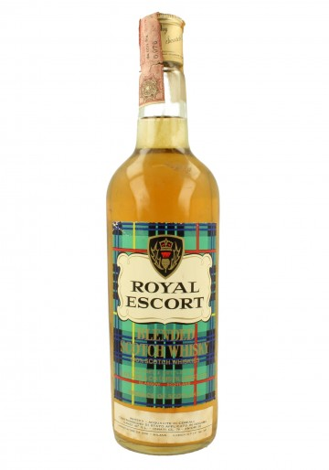 ROYAL ESCORT Bot.60's 75cl 40% A. Gillies - Blended