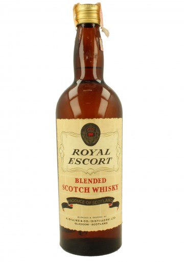 ROYAL ESCORT  Bot.60's 75cl  A. Gillies - Blended
