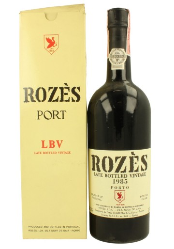 ROZES Port Late Bottled Vintage 1985 1990 75cl 20%