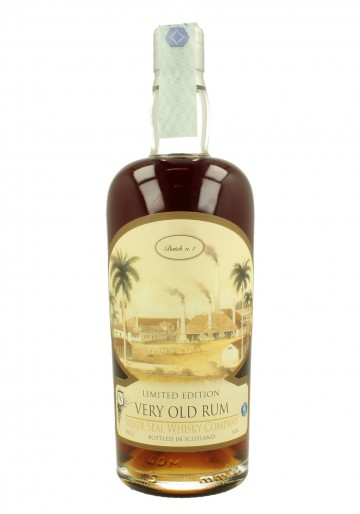 RUM SILVER SEAL 70cl 54%  Silver Seal Limited Edition Batch N. 1