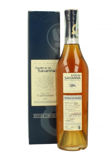 SAVANNA 12yo 1999    2011 50cl 46% - Rum