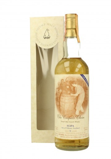 SCAPA 14yo 1979 1994 70cl 57.7% The Vintage Malt Whisky - Cooper Choice