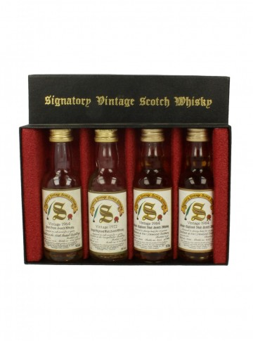 SIGNATORY 5CL 4 VERY RARE MINIATURES