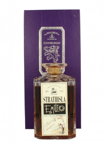 STRATHISLA  25yo 1964 1989 75cl 40% Gordon MacPhail  - Emilio Signed Bottle