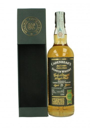 TAMDHU 1980 2015 70cl 53.3% Cadenhead's - Authentic Collection
