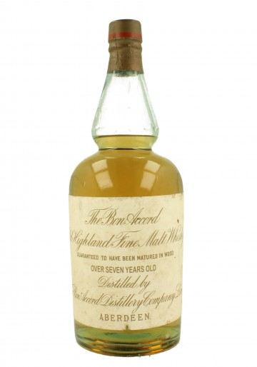 THE BON ACCORD HIGHLAND Fine Malt 7yo Bot.around 1900 75cl