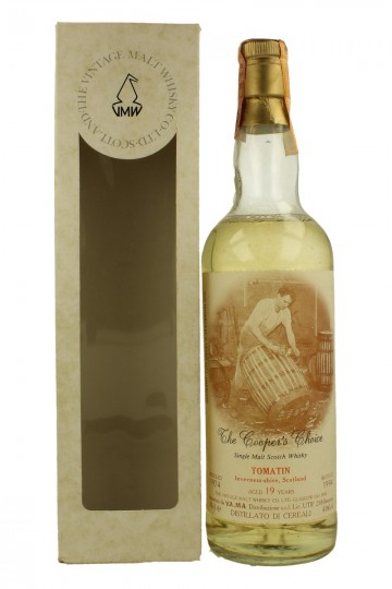 TOMATIN 19yo 1974 1994 70cl  43% The Vintage Malt Whisky - Cooper Choice