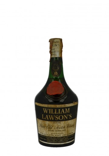 WILLIAM LAWSON'S WHITE LABEL 8YO 75CL 43% CORK